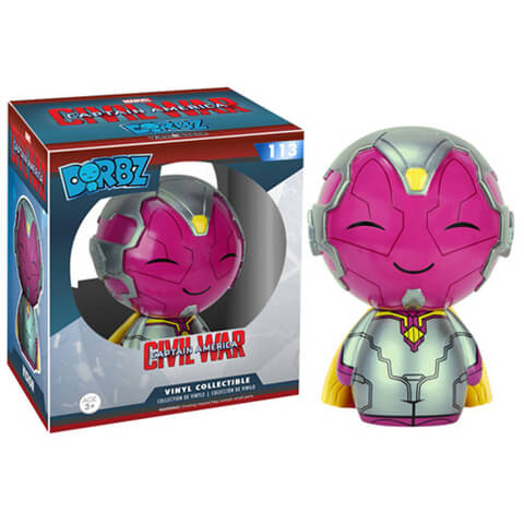 Marvel Captain America Civil War Vision Dorbz Figuur