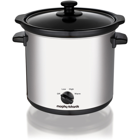 Morphy Richards 460006 Slow Cooker - Stainless Steel - 3.5L