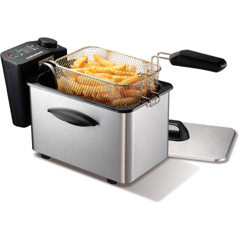 Morphy Richards 45081 Professional Fryer - Brushed Stainless Steel - 2L