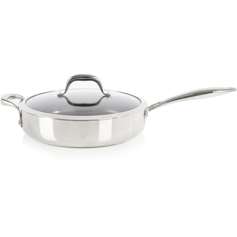 Morphy Richards 79807 Pro Tri Saute Pan - Stainless Steel - 28cm