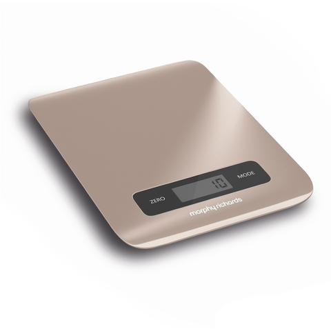Morphy Richards 974901 Electronic Kitchen Scales - Stone