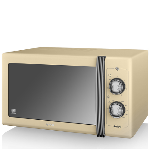 Swan SM22070CN Manual Microwave - Cream - 900W