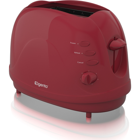 Elgento E20012R 2 Slice Toaster - Red