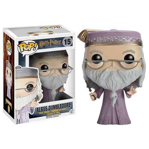 Harry Potter Dumbledore with Wand Funko Pop! Figuur