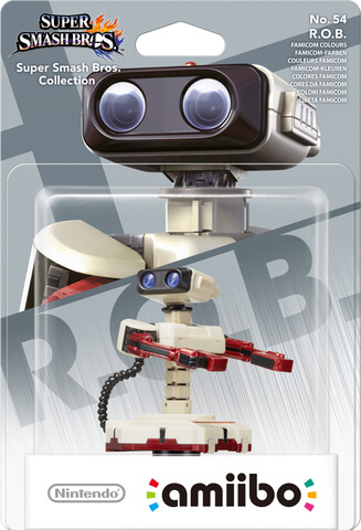 amiibo Smash R.O.B. Famicom Colors No.54 amiibo