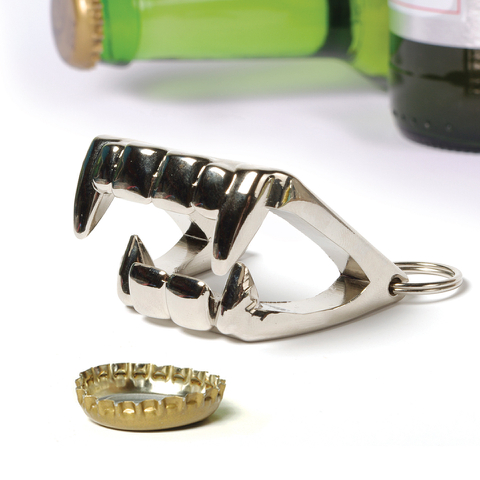 Bite Me Vampire Teeth Bottle Opener