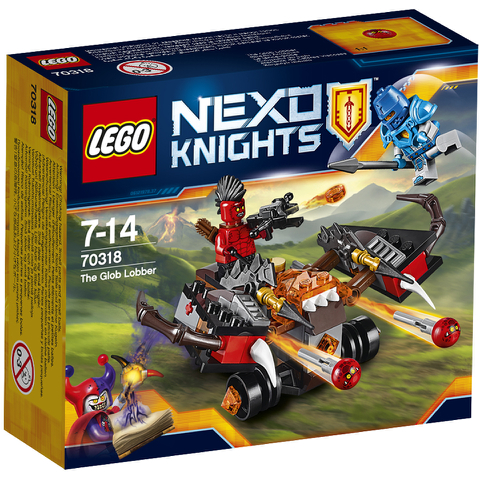 LEGO Nexo Knights: Globlin Armbrust (70318)