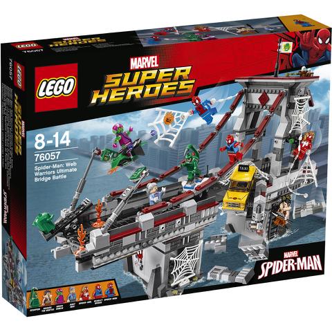 LEGO Superheroes: Spider-Man: Web Warriors ultiem brugduel (76057)
