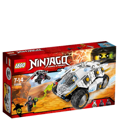 LEGO Ninjago: Le Tumbler du Ninja de Titane (70588)
