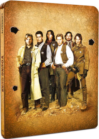Young Guns - Zavvi Exclusive Limited Edition Steelbook (Limited to 2000 Copies)
