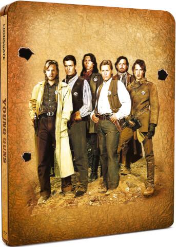 Young Guns - Steelbook Exclusif Limité pour Zavvi (Limité à 2000 Copies)