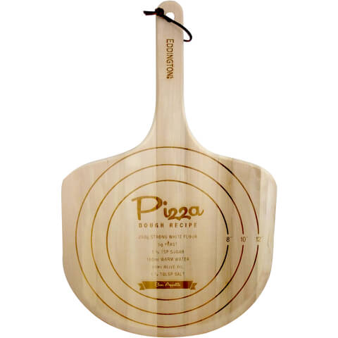 Eddingtons Traditional Wooden Pizza Paddle - 35cm