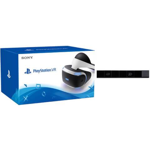 Sony PlayStation VR - Includes PlayStation Camera