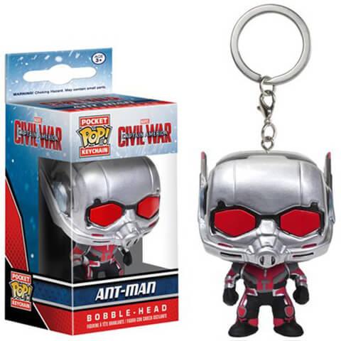 Captain America: Civil War Ant-Man Pocket Pop! Key Chain