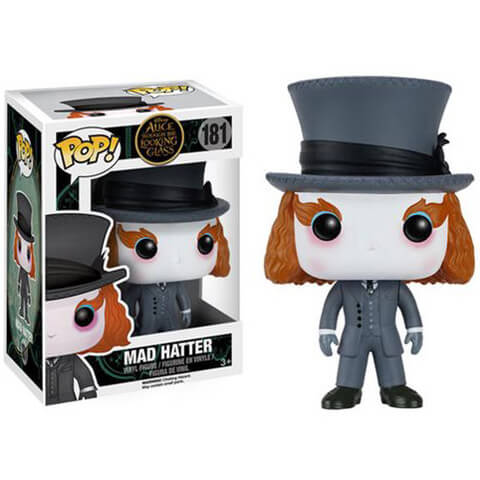 Alice Through the Looking Glass Mad Hatter Funko Pop! Figur