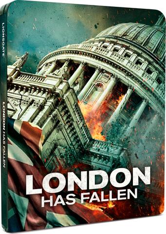 London has Fallen Steelbook Blu-ray