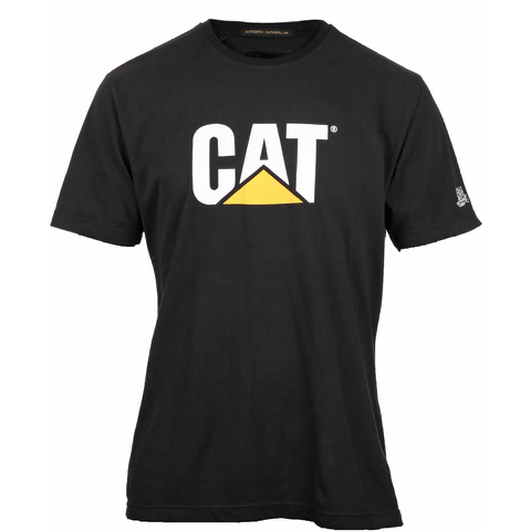 Caterpillar Men's Logo T-Shirt - Black