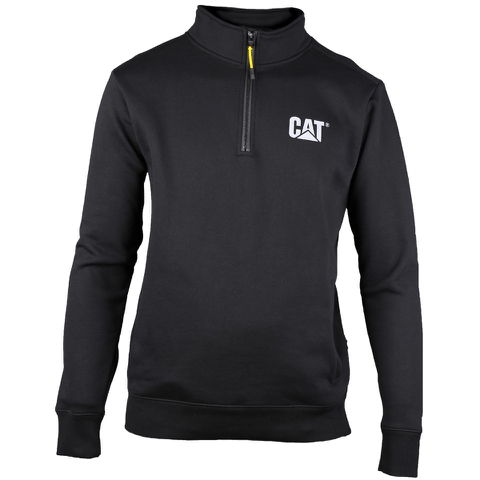 Caterpillar Men's Canyon 1/4 Zip Sweatshirt - Black