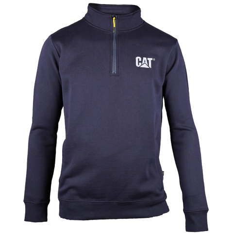 Caterpillar Men's Canyon 1/4 Zip Sweatshirt - Blue