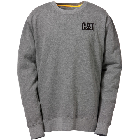 Caterpillar Men's Trademark Crew Sweatshirt - Grey