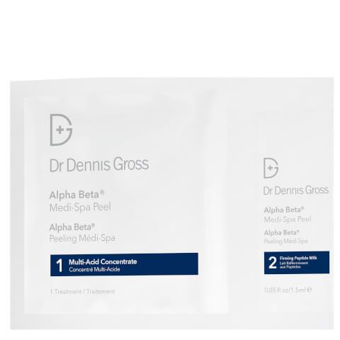 Dr Dennis Gross Skincare Alpha Beta Medi-Spa Peel (Pack of 4)