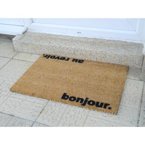 Bonjour, Au Revoir Doormat