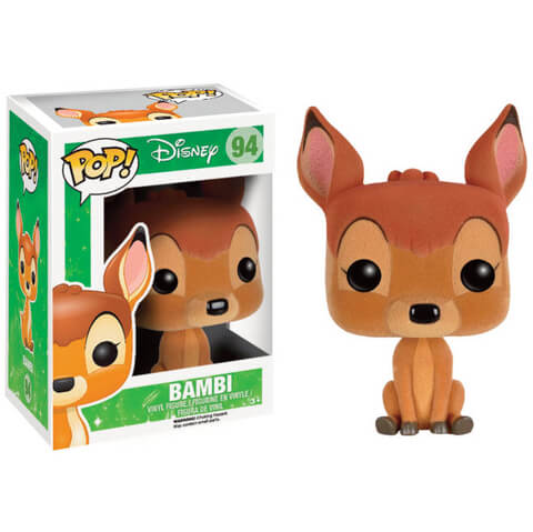 Disney Bambi Flocked Pop! Vinyl Figure
