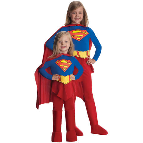 DC Comics Deluxe Girls' Supergirl Fancy Dress
