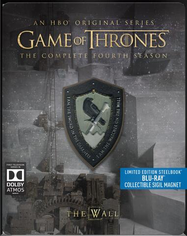 Game of Thrones - Seizoen 4 - Limited Edition Steelbook