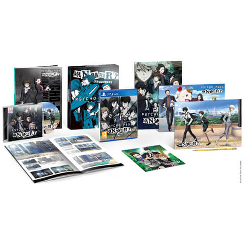 Psycho-Pass: Mandatory Happiness Limited Edition