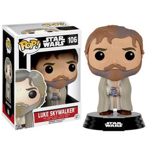 Star Wars: Das Erwachen der Macht bärtige Luke Skywalker Wackelkopf Funko Pop! Figur