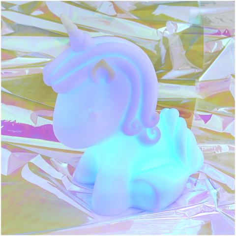 Lámpara de Ambiente Unicornio (Cambia de color)