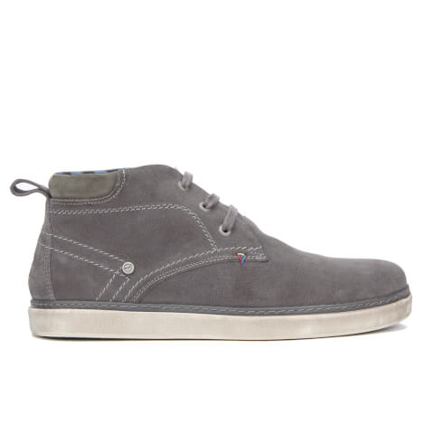 Wrangler Men's Billy Desert Suede Trainers - Dark Grey