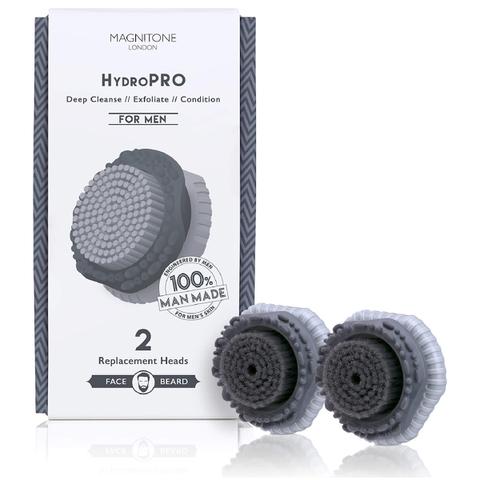 Magnitone London HydroPRO Brush Head for Men (x2)
