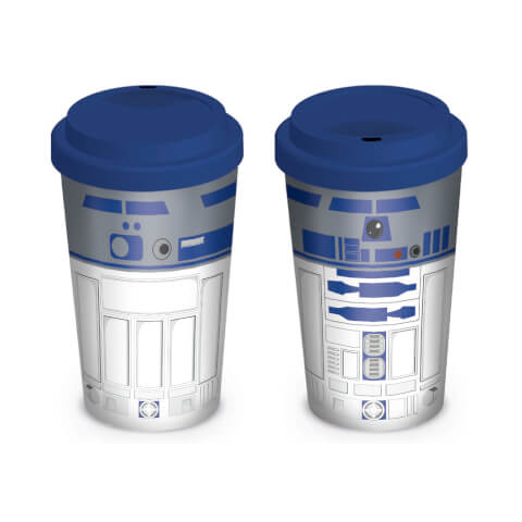 Star Wars R2-D2 Ceramic Travel Mug - Blue