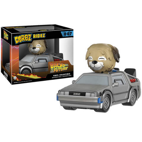 Back to the Future Delorean Dorbz Ridez with Einstein Figuur
