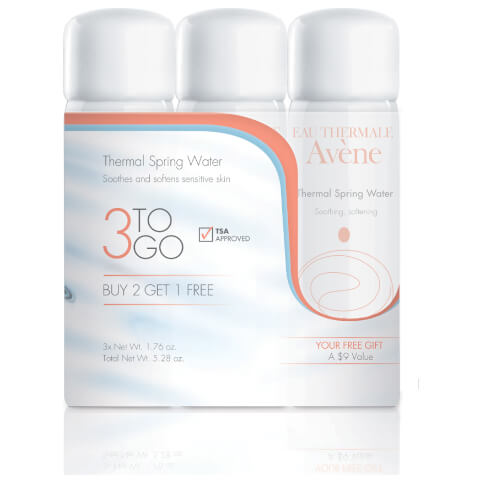 Avène Thermal Spring Water 3-to-Go Kit