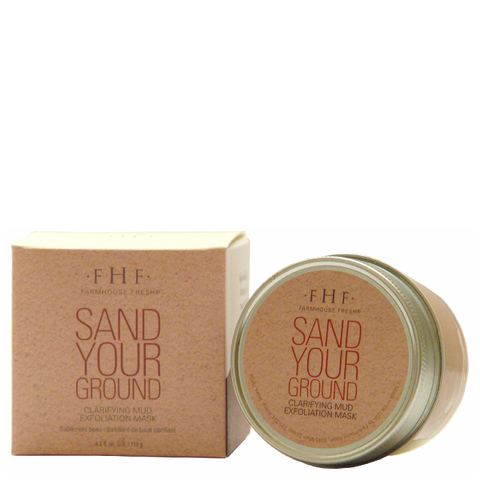 FarmHouse Fresh Sand Your Ground Exfoliating Mud Mask