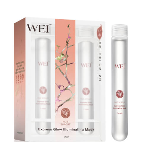 WEI Rice Sprout Express Glow Illuminating Masks