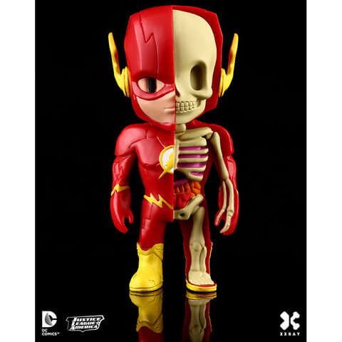 DC Comics XXRAY Figure Wave 2 The Flash 10 cm