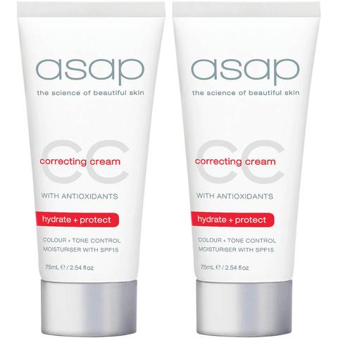 2x asap cc correcting cream