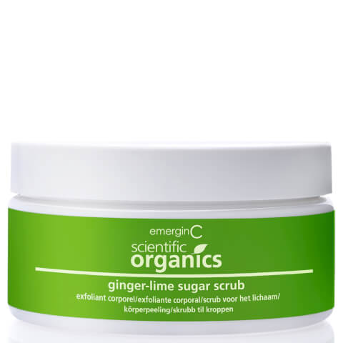 EmerginC Scientific Organics Ginger-Lime Sugar Scrub