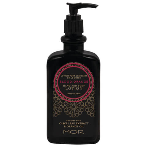 MOR Emporium Classics  Blood Orange Hand and Body Lotion 350ml