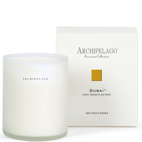 Archipelago Botanicals Excursion Collection Soy Wax Candle - Dubai
