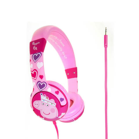 Peppa Pig Children's On-Ear Headphones - Princess Pepper