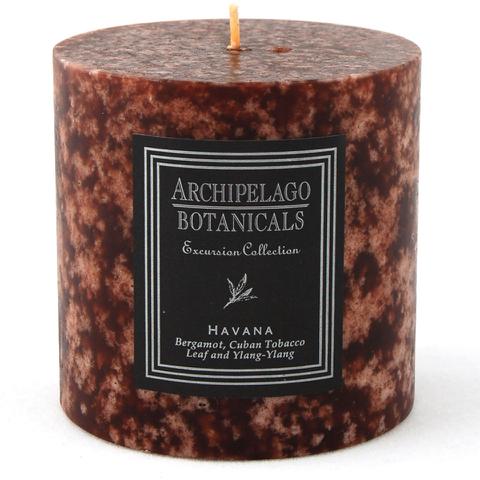 Archipelago Botanicals Pillar Candle - Havana