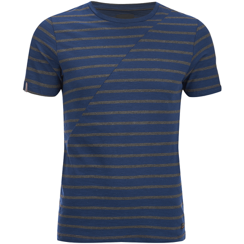 Produkt Men's Deko Asymetric Stripe T-Shirt - Dress Blue