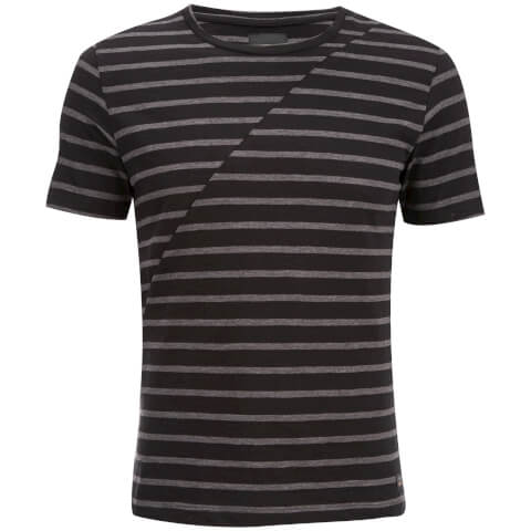 Produkt Men's Deko Asymetric Stripe T-Shirt - Black