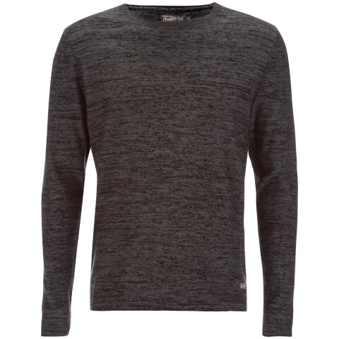 Jack & Jones Men's Originals Calla Jumper - Dark Grey Marl