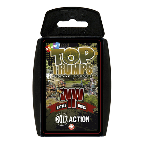 Top Trumps Specials - Bolt Action